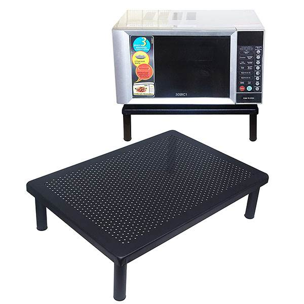 APPUCOCO Heavy Metal Microwave Oven Fix Stand